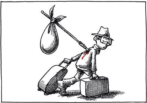 «Pour moi, le grand paradoxe, c'est que je ne peux pas revenir dans mon pays d'origine mais je ne me sens pas pour autant français. Je ne me sens de nulle part.» (Mana Neyestani - Arte Editions)