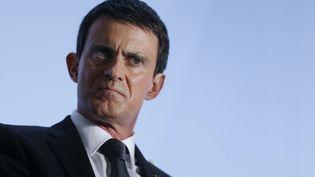 Le Premier ministre Manuel Valls, lors d'une conférence de presse le 3 février 2016 à Paris. (THOMAS SAMSON / AFP)