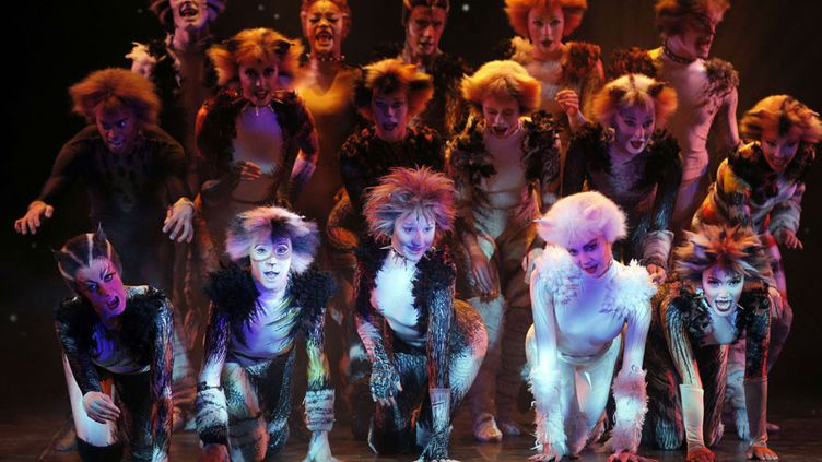 """La comédie musicale """"Cats"""" sera à Paris en octobre, au théâtre Mogador  (Christophe Ena / AP / SIPA)"""
