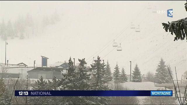 Montagne : la neige fait déjà son apparition