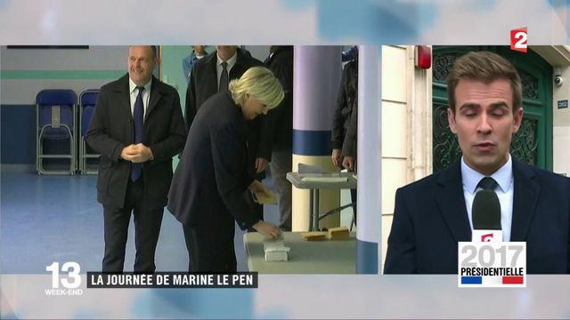 Présidentielle : le programme de la journée de Marine Le Pen