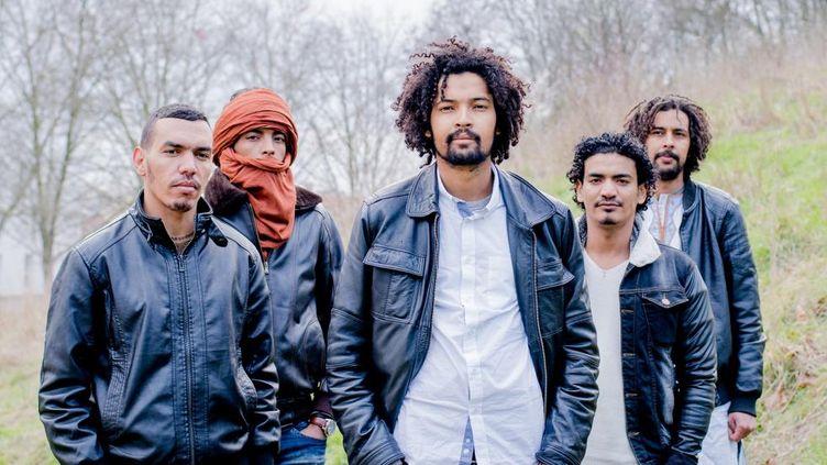 """Le groupe Imarhan vient de sortir un nouvel album, """"Temet"""". (Julien Bourgeois)"""