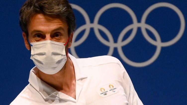 Tony Estanguet, président du Comité d'organisation des Jeux olympiques et paralympiques de Paris-2024, le 6 août 2021. (FRANCK FIFE / AFP)