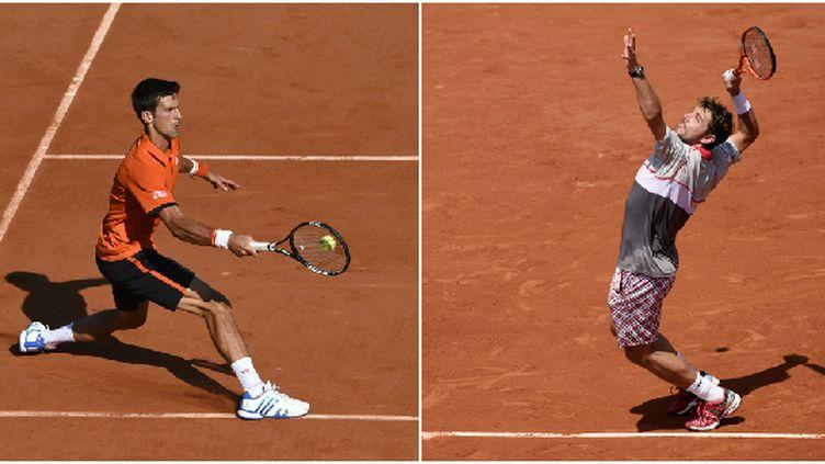 Novak Djokovic et Stanislas Wawrinka ont pris l'habitude de se livrer des duels aussi longs que spectaculaires
