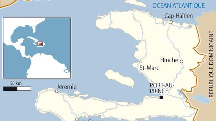 La plus grande ville d'Haiti est la capitale Port-au-Prince (2 millions d'habitants). (AFP)