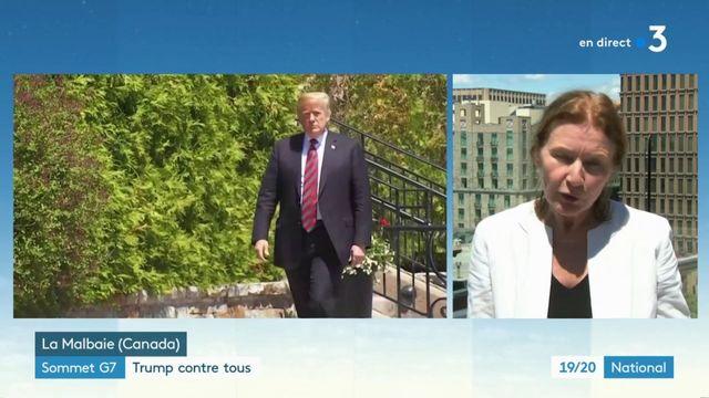 Sommet du G7 : Donald Trump contre tous ?