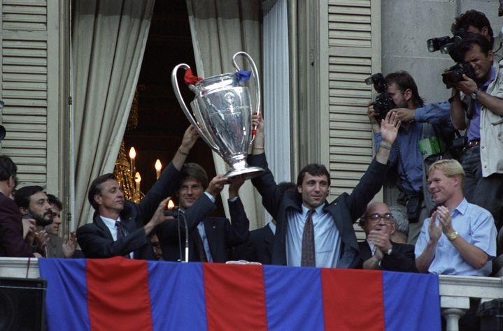 Johan Cruyff, le 21 mai 1992.