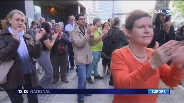 Catalogne : les débuts de la résistance pacifique