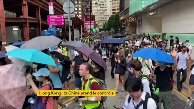 La Chine a la loi avec elle pour prendre le contrôle d'Hong Kong