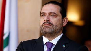 Saad Haririà Beyrouth, au Liban, le 24 octobre 2017. (MOHAMED AZAKIR / REUTERS)