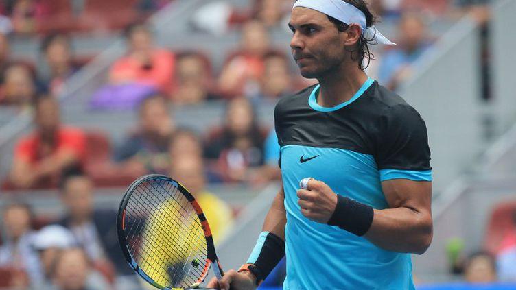Rafael Nadal satisfait (XING GUANGLI / XINHUA)