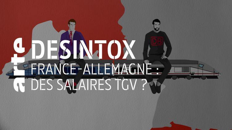 Non, les conducteurs de TGV français ne sont pas trois fois mieux payés que leurs homologues allemands (ARTE/LIBÉRATION/2P2L)