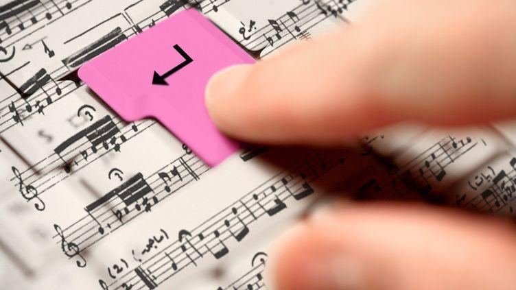 La création musicale est (aussi) parfois une question d'algorithmes. (PHILIPPE TURPIN / MAXPPP)