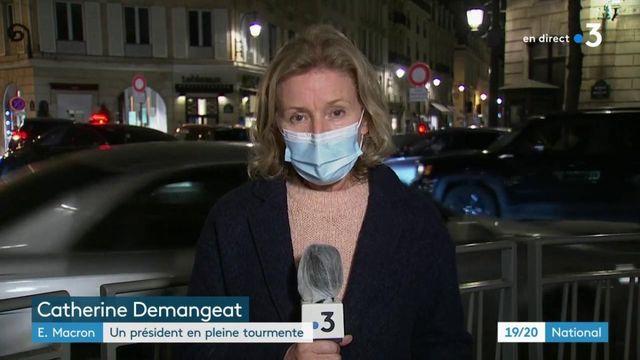 Attentat et crise sanitaire : Emmanuel Macron dans la tourmente