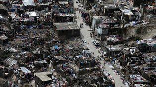 La ville de Jeremie (Haïti) dévastée après le passage de l'ouragan Matthew, le 6 octobre 2016. (CARLOS GARCIA RAWLINS / REUTERS)