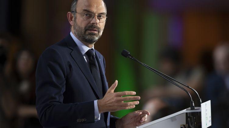 Le Premier ministre, Edouard Philippe, le 4 octobre 2019 à Paris. (IAN LANGSDON / POOL / AFP)