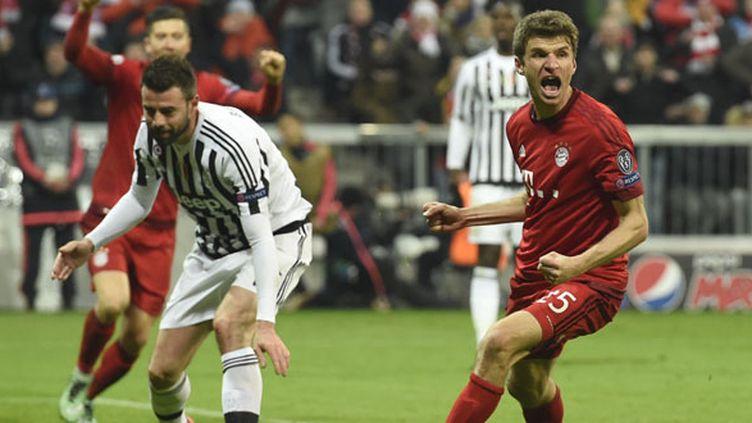Le joueur du Bayern Munich, Thomas Muller