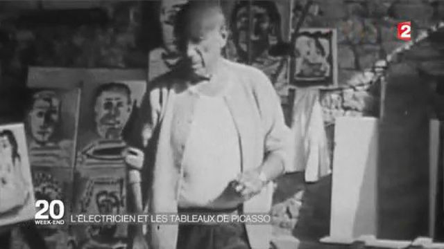 Justice : deux ans de prison avec sursis pour l'ancien électricien de Picasso pour recel d'oeuvres
