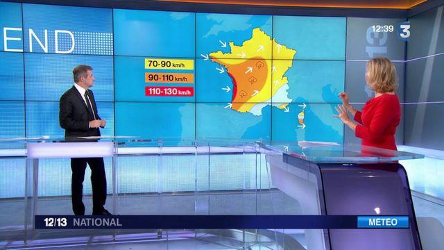 Tempête Carmen : un temps orageux pour le Nouvel An
