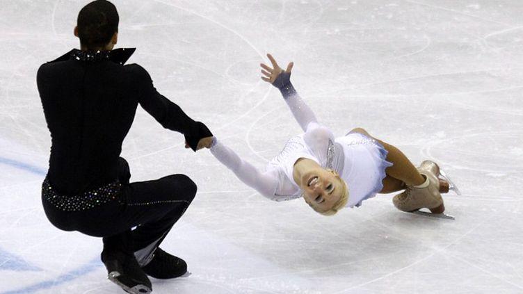Le couple allemand Aliona Savchenko et Robin Szolkowy