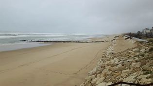 Le maire de Lacanau (Gironde) a décidé d'interdire l'accès aux plages où des ballots de cocaïne ont été découverts. (STEPHANE HISCOCK / RADIO FRANCE)