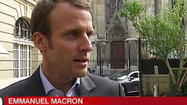 Le PS divisé au sujet d'Emmanuel Macron