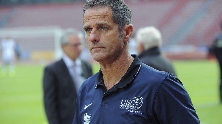 Philippe Hinschberger, entraîneur du FC Metz (JEAN MARIE HERVIO / DPPI MEDIA)