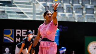 Serena Williams lors du tournoi de Rome le 12 mai 2021. (ROB PRANGE / SPAIN DPPI)