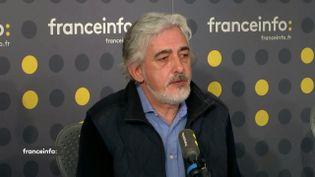 Loick Berrou, sur franceinfo, lundi 14 octobre. (FRANCEINFO / RADIOFRANCE)