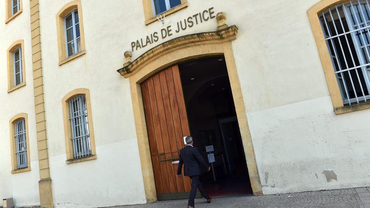 Le palais de justice de Roanne (Loire). Photo d'illustration. (YVES SALVAT / MAXPPP)