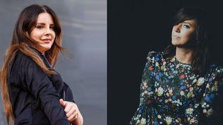 """Lana Del Rey et Cat Power réunies sur le single """"Woman"""", extrait du prochain album de Cat Power.  (Chelsea Lauren/Shutters/SIPA et Eliot Lee Hazel/Domino Rcds)"""