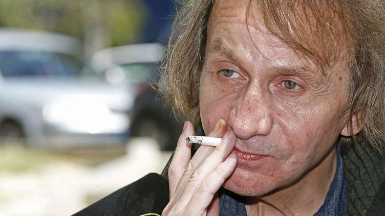 Michel Houellebecq (28 avril 2014)  (Marcial Guillen / EFE / SIPA)