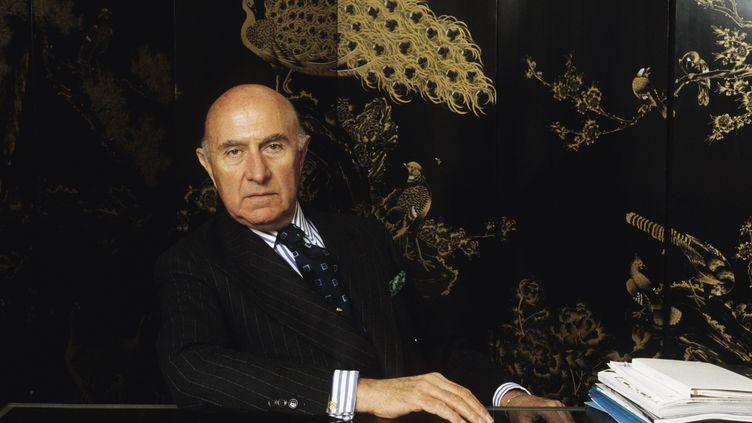 Beppe Modenese, ancienprésident de la Chambre nationale de la mode italienne, ici en 2016. (LEONARDO CENDAMO)