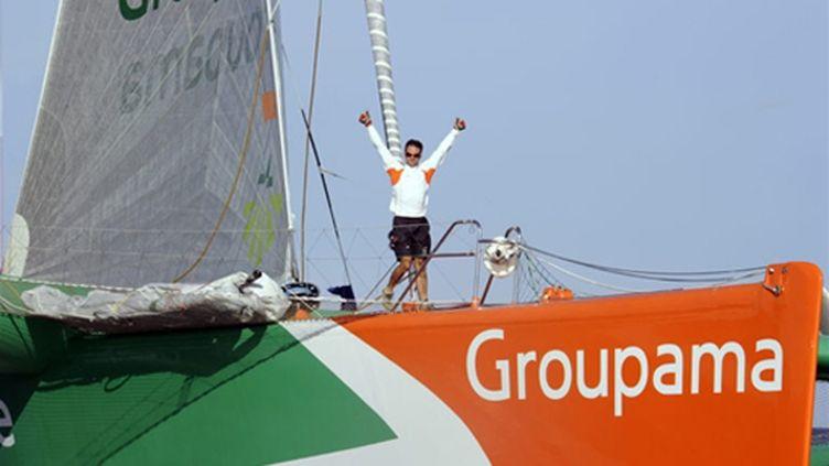 Franck Cammas (Groupama 3)
