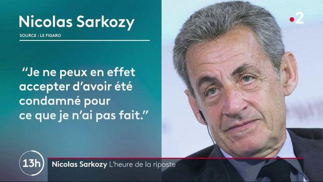 Justice : après sa condamnation, Nicolas Sarkozy contre-attaque et clame son innocence
