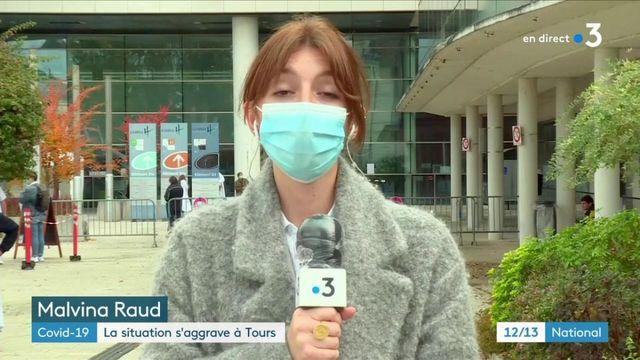 Coronavirus : Tours de plus en plus touché