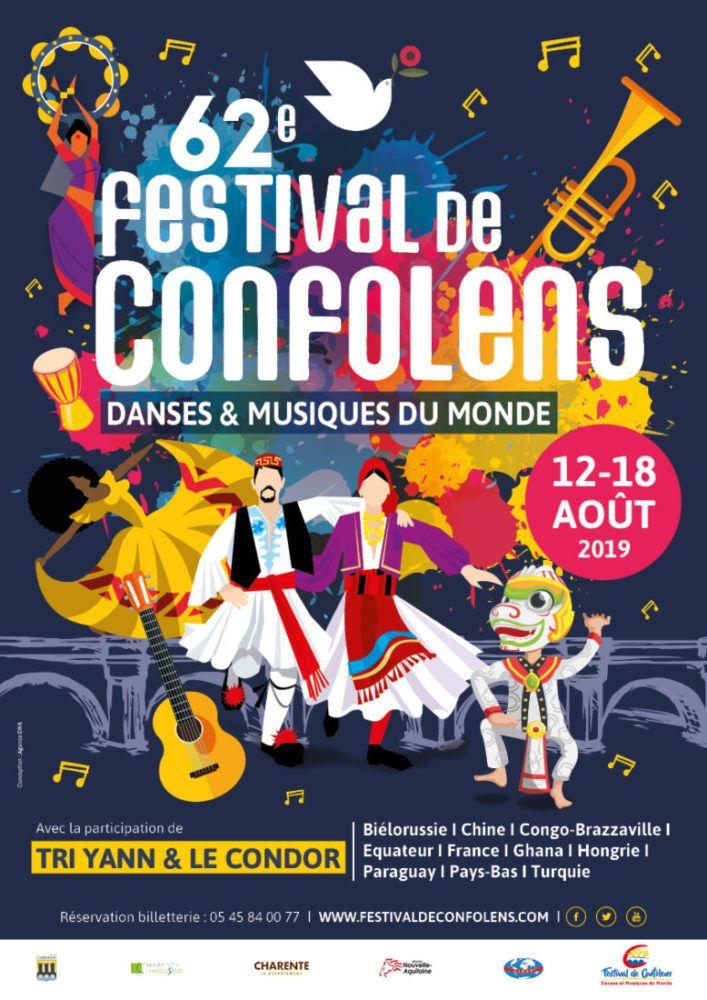 62e Festival de danses et musiques du monde de Confolens. (DR)