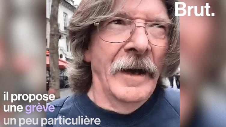 """VIDEO. Pour protester contre la hausse de la CSG, un retraité propose une """"grève de la consommation"""" (BRUT)"""