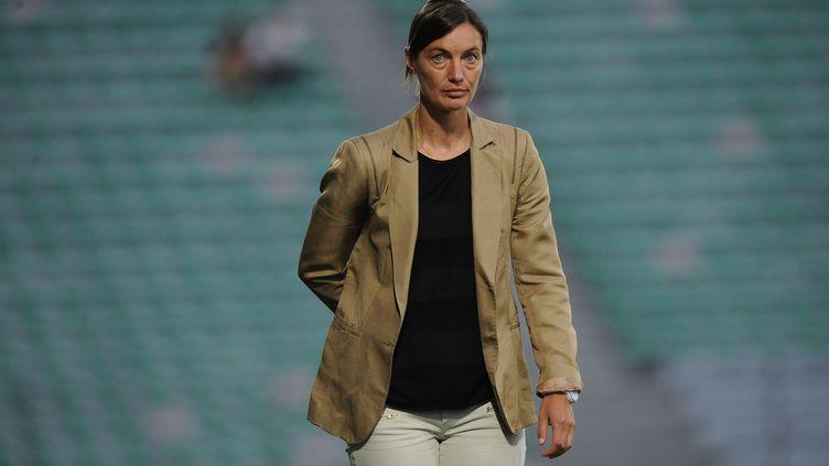Corinne Diacre est désormais liée au club Clermontois jusqu'en 2018 (JEAN PAUL THOMAS / DPPI MEDIA)