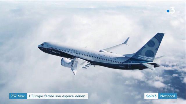 Quasiment toute l'Europe dont la France interdit le Boeing 737 MAX
