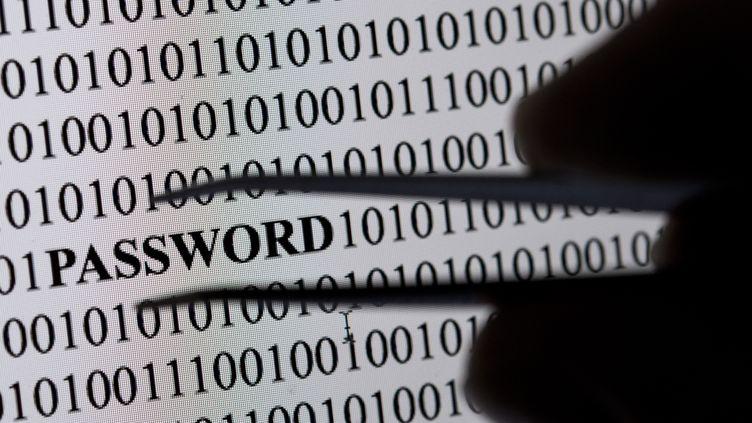 """Des mots de passe simples comme """"123456"""" sont les premiers testés par les hackers. (DPA / AFP)"""