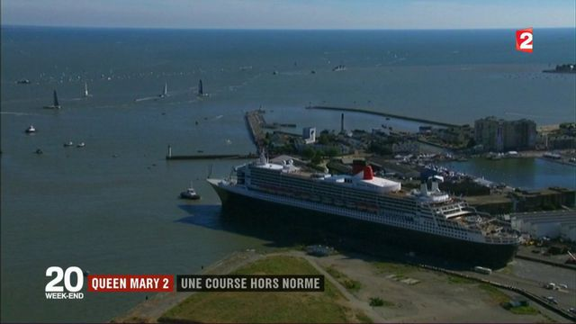 Queen Mary 2 : une course hors norme