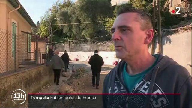 Tempête Fabien : la France face aux intempéries
