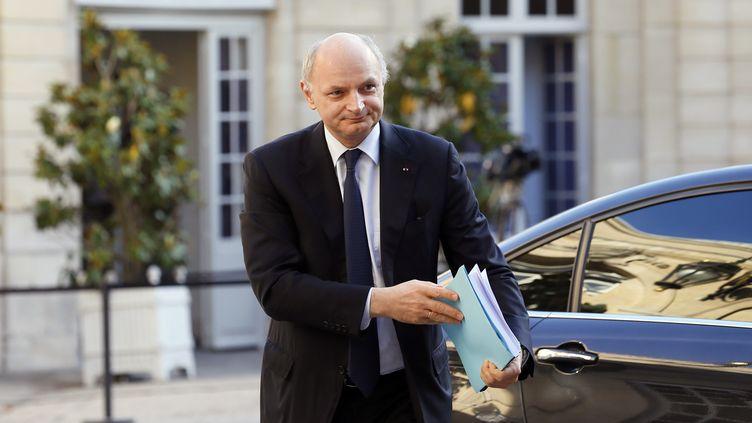 Le premier président de la Cour des comptes, Didier Migaud, le 2 juillet 2012 devant Matignon, à Paris. (KENZO TRIBOUILLARD / AFP)