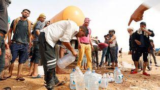 Près de Tataouine, des manifestants réclament un partage équitable des ressources, le 11 mai 2018. (Reuters/Zoubeir Souissi)