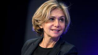 La présidente de la région Ile-de-France, Valérie Pécresse, le 30 janvier 2018 à Paris. (ERIC PIERMONT / AFP)