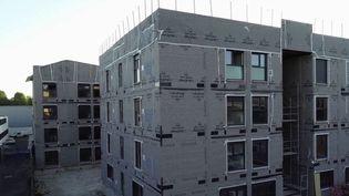 En France, les immeubles en kit représentent moins d'un pour cent des bâtiments. Pourtant selon les professionnels, cette solution serait idéale pour construire plus vite, moins cher, et de façon plus écologique. Un rapport remis au gouvernement aujourd'hui propose de créer cette filière dans l'Hexagone. (France 3)