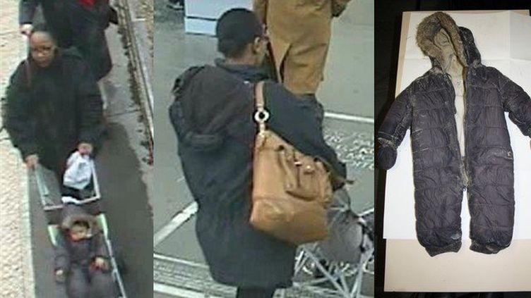 La police diffuse ces photos dans son appel à témoins, dans l'enquête sur la mort d'une fillette, à Berck-sur-mer. (© DR)