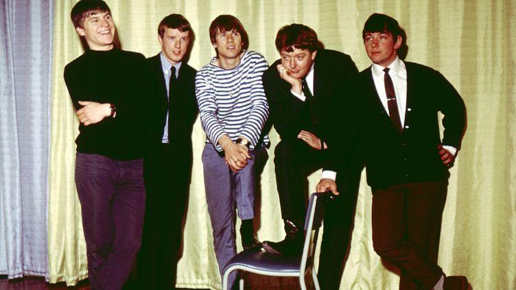 Le groupe de rock britannique The Animals en mai 1964 avec de gauche à droite:Alan Price Eric Burdon John Steel Hilton Valentine et Bryan Chandler
