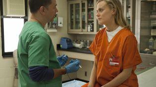 Une scène de la saison 1 de la série Orange IsThe New Black. (KOBAL / AFP)
